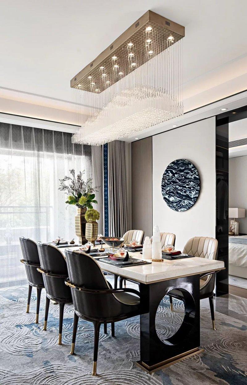 大督硅藻泥图片 新中式家居装修效果图
