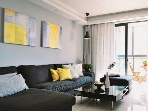 通透大气的硅藻泥设计 时尚简约公寓装修