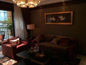 现代简约风格硅藻泥装修图片 客厅灰色高级装修效果图