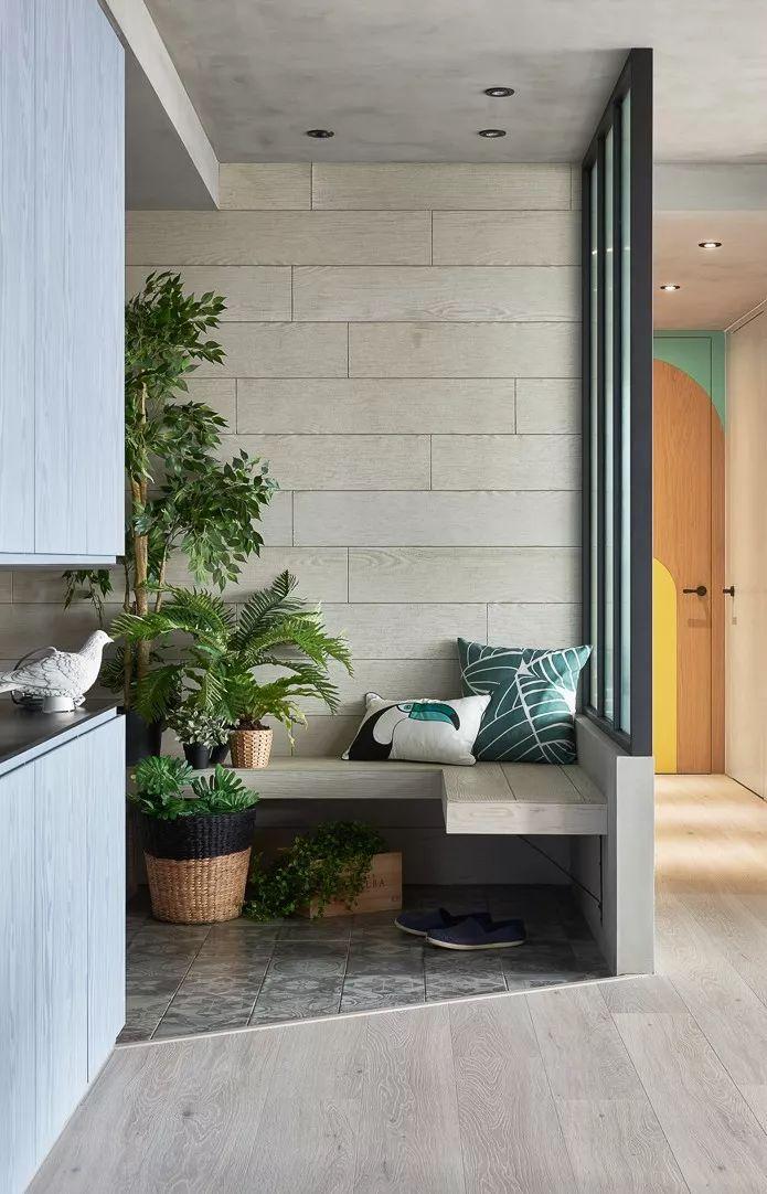 绿赫硅藻泥图片 现代风家居装修效果图