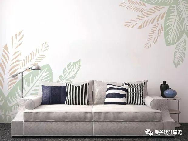 爱美瑞硅藻泥图片 现代风家装效果图