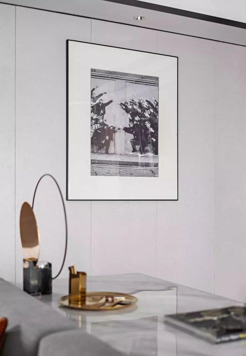 克洛斯威硅藻泥|191㎡叠墅样板间 享受居家之乐