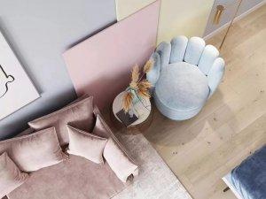 克洛斯威硅藻泥图片 公寓装修效果图