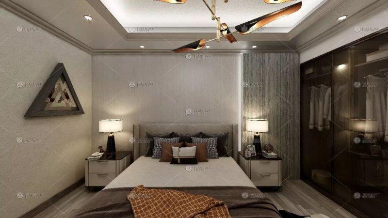 宏燕艺术水漆图片 轻奢风格家居装修效果图