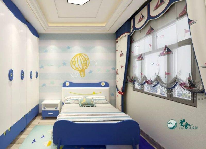 兰舍硅藻泥图片 儿童房装修效果图