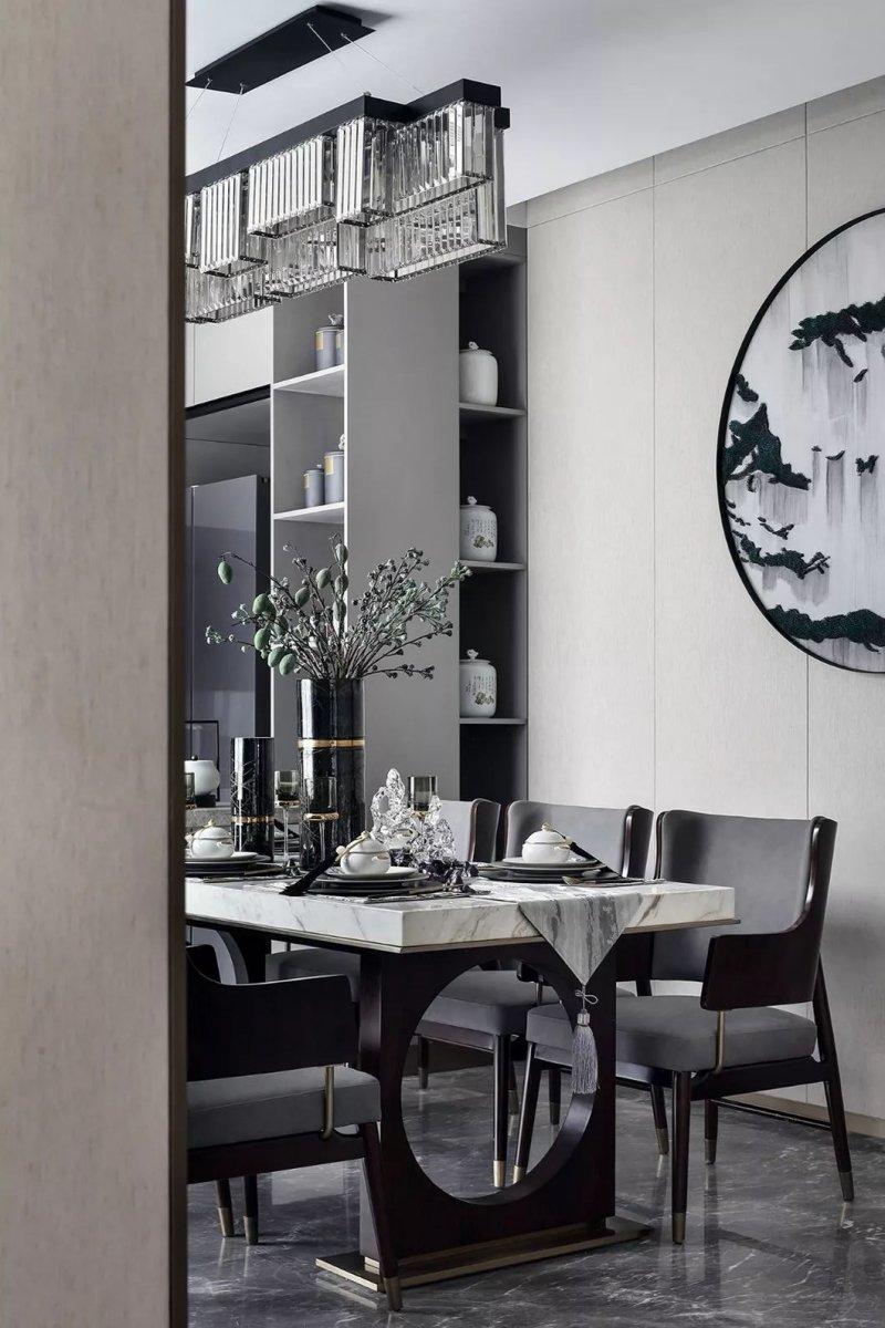 大督硅藻泥图片 新中式家居装修效果图_34
