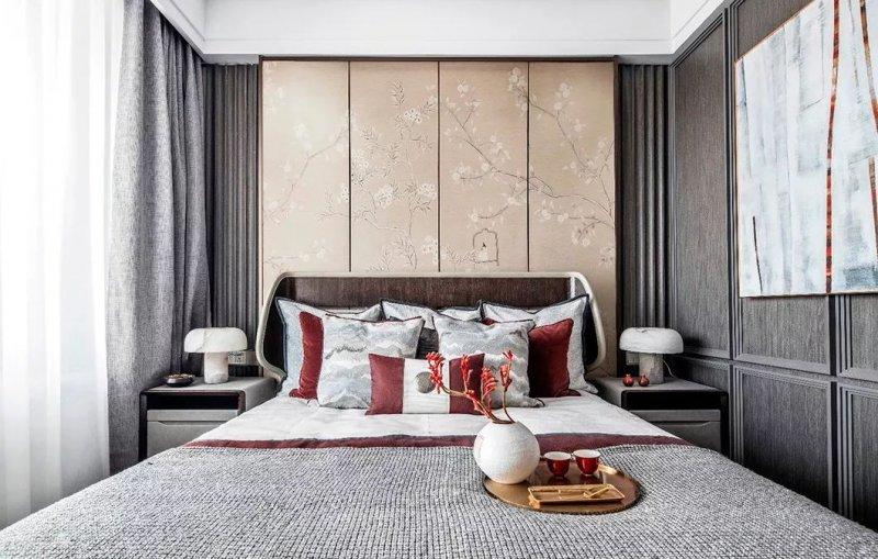 大督硅藻泥图片 新中式家居装修效果图_24