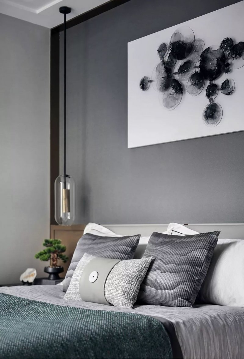 大督硅藻泥图片 新中式家居装修效果图_41
