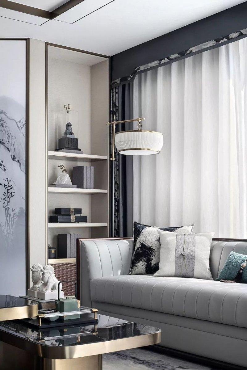 大督硅藻泥图片 新中式家居装修效果图_32