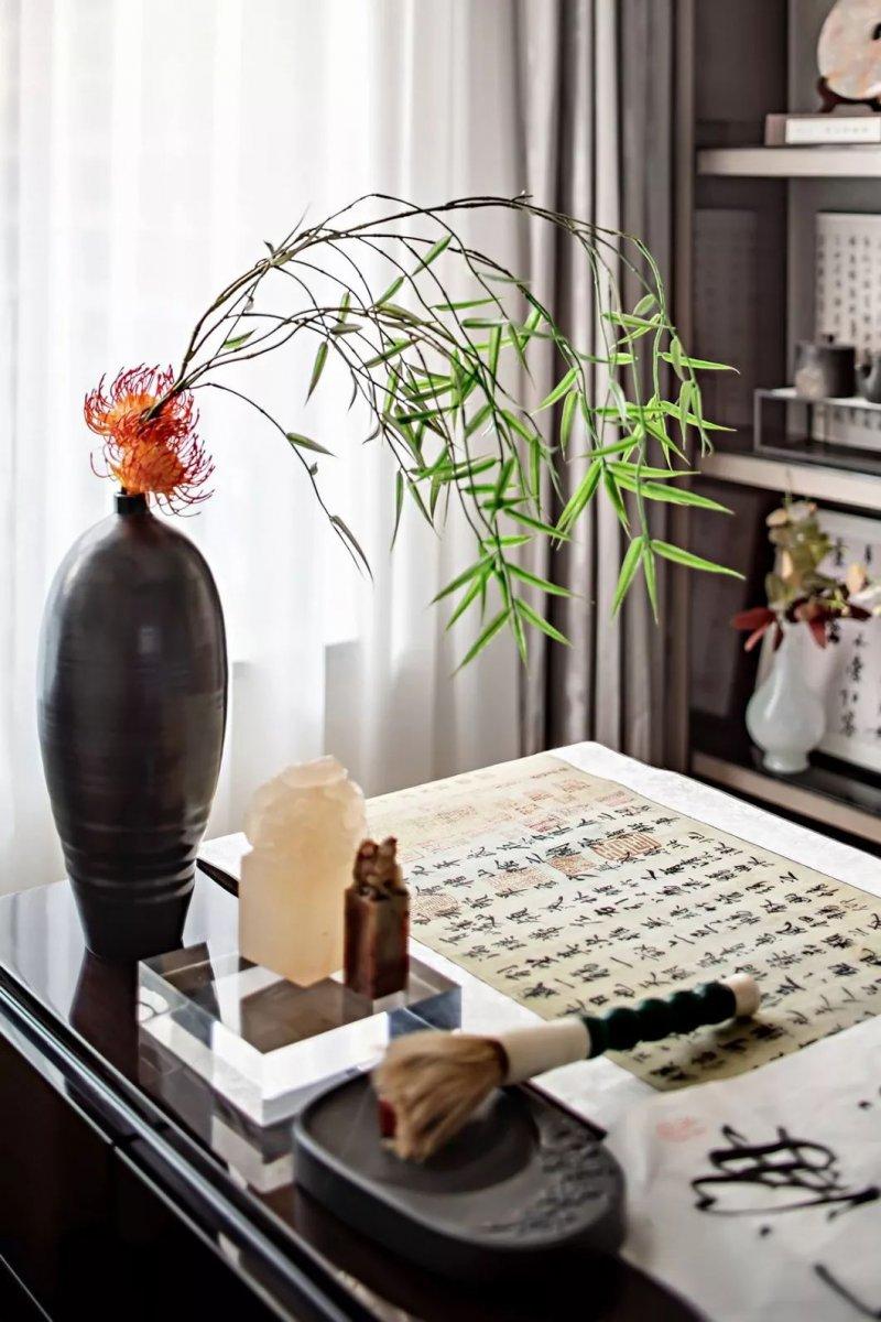 大督硅藻泥图片 新中式家居装修效果图_7
