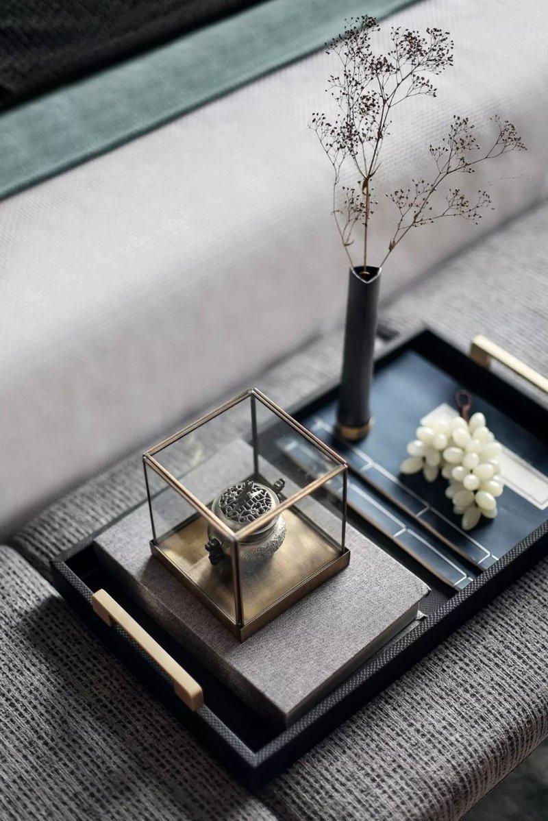 大督硅藻泥图片 新中式家居装修效果图_38