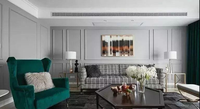 美式风格硅藻泥装修效果图 15款客厅装修图片