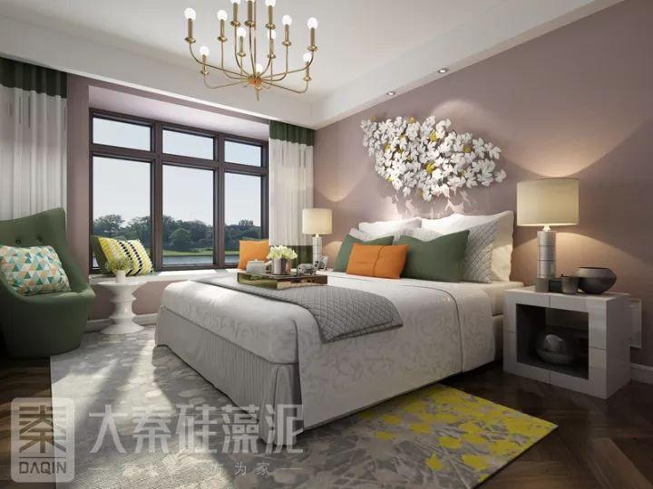 大秦硅藻泥图片 现代风家居装修效果图