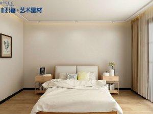 南极海硅藻泥图片 卧室装修效果图
