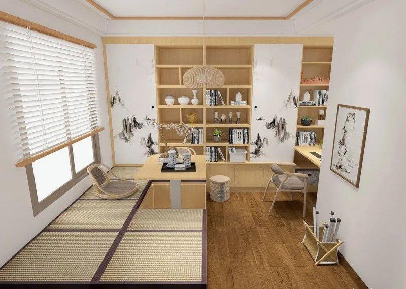 书房设计:利用色彩的搭配来营造一个舒适安静的读书空间!