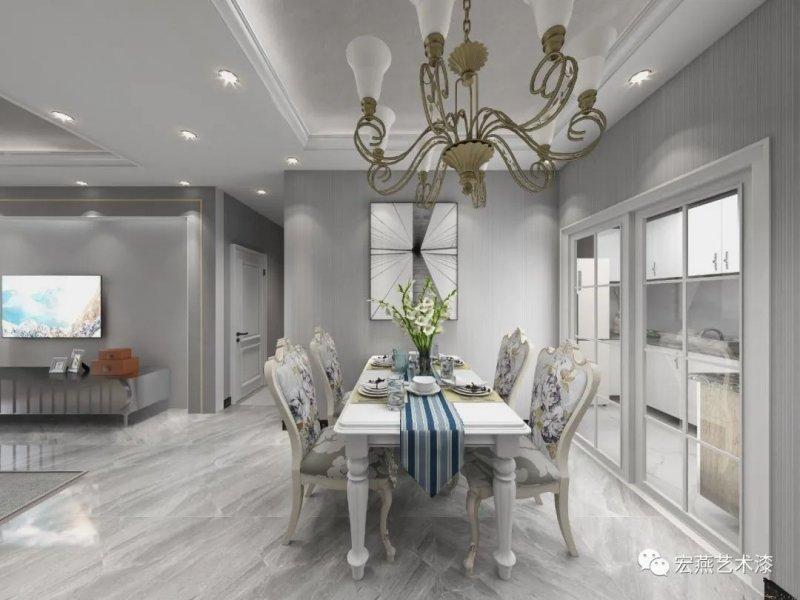 莫兰迪色系墙面艺术感十足,巧用色彩让家焕出精彩!