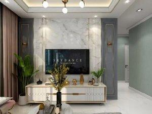 斯米利亚硅藻泥轻奢风格家居装修图片