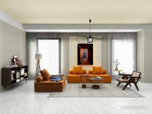 天然居硅藻泥混搭风格家居装修图片