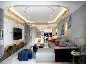斯米利亚硅藻泥现代轻奢风家居装修图片