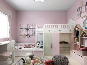 斯米利亚硅藻泥儿童房配色装修图片